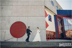 Downtown Baltimore Wedding: Hyatt Regency ceremony and Fogo de Chao reception