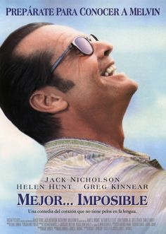 A 1997 movie directed by James L Brooks and Starring Jack Nicholson, Helen Hunt and Greg Kinnear. Greg Kinnear, Jack Nicholson, Shirley Knight, Helen Hunt, Get Movies, Films Cinema, Romance, Good Day Song, Romantic Movies