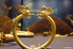 Sphinx bracelet, Ancient Egypt, Cairo Museum. It is a highest of fantasies for me to wear authentic Egyptian gold of antiquity!
