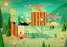 jack hudson illustration - Buscar con Google