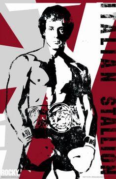 L'étalon Italien Rocky Balboa