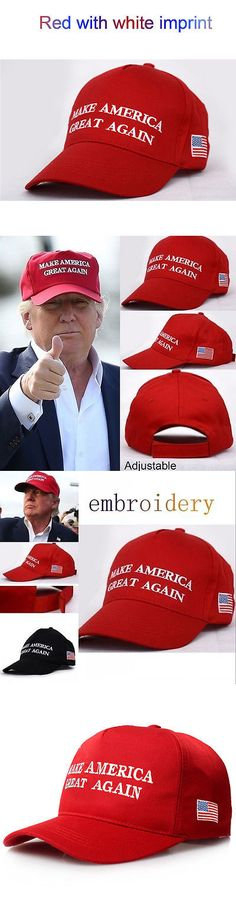 donald trump: 2016 Make America Great Again Hat Donald Trump Republican Adjustable Cap -> BUY IT NOW ONLY: $2.99 on eBay!