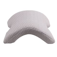 ALEVMOOM Slow Rebound Pressure Romantic Couple Pillow Side Sleeper Pillow,Memory Foam Pillow Cervical Neck Pillow for Sleeping,U Shaped Ice Silk Arched Travel Pillow,Office Rest Pillow (White, Spooning Pillow, Collapsible Stool, Air Lounger, Cuddle Pillow, Camping Stool, Air Chair, Foam Pillows, Nursing Pillow, Home