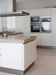 Ideal Cocina con office El color delimita cada zona
