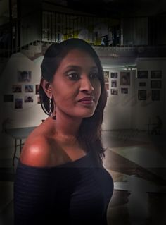 Nirmala at the Rotunda by TREVOR'S CREATIVE IMAGES