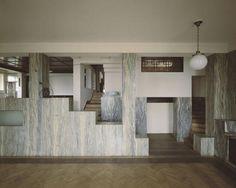 """Adolf Loos """"Villa Muller"""" interior. Built 1930."""