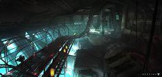 Destiny, Scourge of Winter, Darren Bacon Sci Fi Environment, Environment Design, Fantasy Images, Interior Concept, Matte Painting, Cool Landscapes, Sci Fi Art, Decoration, Cyberpunk