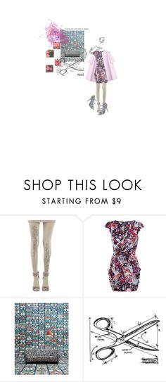 """""""in my mind"""" by yourelive ❤ liked on Polyvore featuring ZOHARA, Jil Sander, Lipsy, Dolce&Gabbana, NLXL and Tim Holtz"""