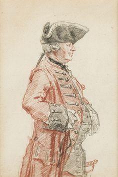 Monsieur de La Neuville Morfleury, 1756 by Louis Carrogis dit Carmontelle (1717-1806)