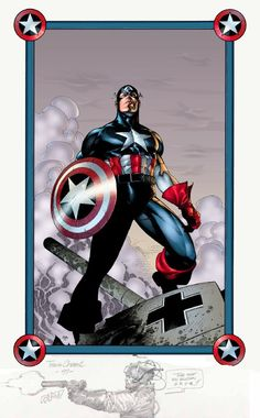 Captain America - Travis Charest