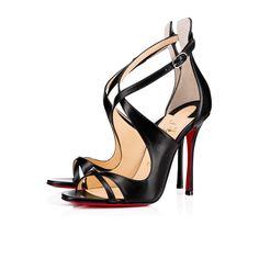 CHRISTIAN LOUBOUTIN Malefissima 100Mm Black Leather. #christianlouboutin #shoes #