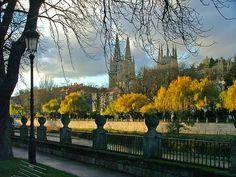 Burgos...en España.  Lindo lugar.    Burgos in Spain.  Precious place.