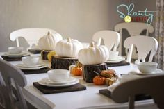 Thanksgiving tablescape on a budget