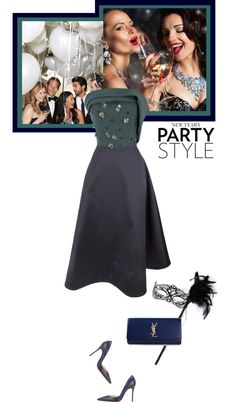 """""""New Year's party style"""" by matilda66 on Polyvore"""