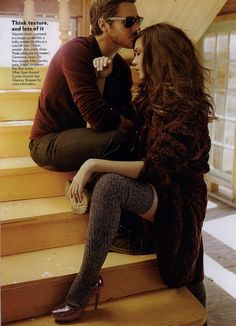 Glamour Editorial Now That's a Cute Couple, October 2010 Shot #2