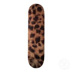 Cheetah Skateboard by Natural View $71.95