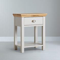 Buy John Lewis Downton 1 Drawer Bedside Table Online at johnlewis.com