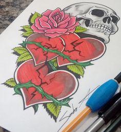 Monster Tattoo, Tattoos, Tatuajes, Tattoo, Japanese Tattoos, Tattoo Illustration, A Tattoo, Time Tattoos