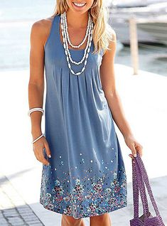 Top 6 Fashionable Summer Dress for Girls & Womens Dress Outfits, Casual Dresses, Dress Up, Summer Dresses, Sun Dresses, Tank Dress, Midi Dresses, Midi Sundress, Party Dresses