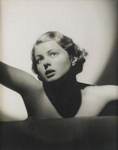 Ingrid Bergman, 1935. Photo by Ake Lange