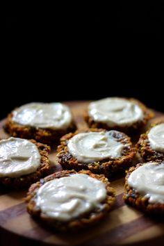 This Rawsome Vegan Life: CARROT CAKE COOKIES with LEMON CREAM FROSTING