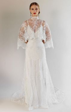 Claire Pettibone Spring 2017 | https://www.theknot.com/content/claire-pettibone-wedding-dresses-bridal-fashion-week-spring-2017