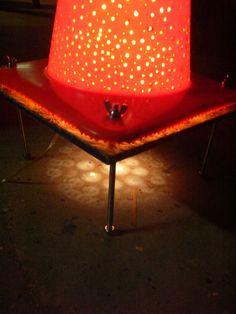 Traffic Cone Lamp #trafficcone #orangecone #light #diy #cooldiys #urban #city #urbandiy #dope