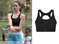 Shameless: Season 5 Episode 1 Fiona's Black Sports Bra