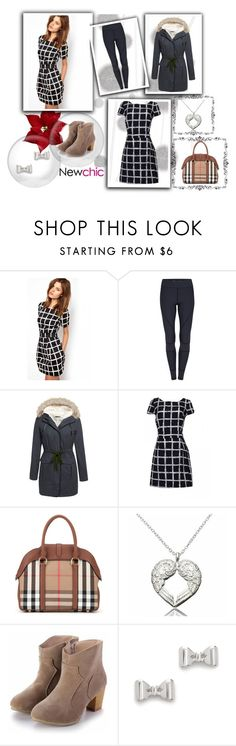 """""""Newchic_30"""" by dzena-05 ❤ liked on Polyvore featuring Komar, Burberry, Marc by Marc Jacobs, women's clothing, women's fashion, women, female, woman, misses and juniors"""