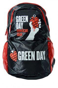 Mochila Green Day Tipo Escolar en Color Negro. Si quieres ver más modelos  de   d84931ffeb6