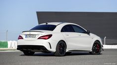 2017 Mercedes-AMG CLA 45 Wallpaper