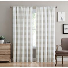 Decor, Rod Pocket Curtains, Printed Curtains, Plaid Curtains, Home Decor, Colorful Curtains, Bed Bath And Beyond, Home Decor Outlet, Khaki Drapes