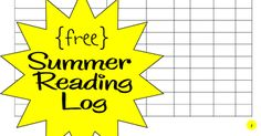FREE Printable Summer Reading Lot to help kids keep reading through the summer. It is so important for homeschool kids to keep reading to not loose momentum!