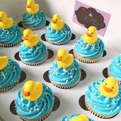 42 Ideas baby shower ides rubber ducky duck cupcakes for 2019 - 42 Ideas baby shower ides rubber ducky duck cupcakes for 2019 - Rubber Duck Cake, Rubber Duck Birthday, Rubber Ducky Party, Rubber Ducky Baby Shower, Baby Shower Duck, Duck Cupcakes, Baby Shower Cupcakes For Boy, Cupcakes For Boys, Baby Shower Cakes