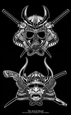 Royal Blood -Mask Series by Deni Dessastra, via Behance