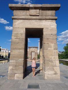Spain, Madrid, Templo de debdod