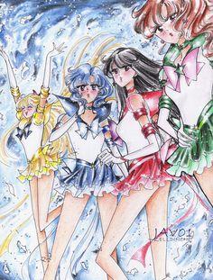 sailor moon - inner senshi eternal by *zelldinchit on deviantART