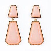 Resin Stoneset Irregular Earrings – USD $ 4.99