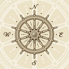 roue boussole