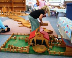 let the children play: props in the block area at preschool