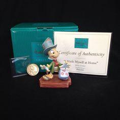 WDCC Pinocchio Jiminy Cricket Walt Disney Classics Collection 2003 #WDCCWaltDisneyClassicsCollection