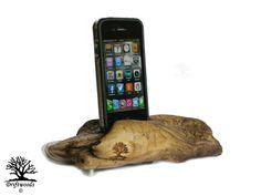 Driftwoods Ladestationen für iPhone iPad iPod und Samsung Galaxy S2 S3 S4 Ladestationen im Green Design aus Treibholz