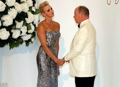 Prince Albert and Charlene attend the 69th Red Cross Gala