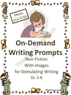 On demand writing prompts for second grade