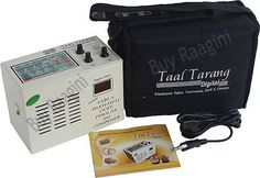 Taal Tarang Electronic Tabla 2012 (PDI-DH) by buyRaagini.com. $149.00. Taal Tarang Digital is perhaps the best Electronic Tabla available. In addition to Tabla, it comprises of three additional music instruments - Pakhawaj, Duff & Dholak. It has an unmatched tonal quality and produces genuine sound rather than a robotic sound. It also comes in with an in-built battery box & universal power mode. In all it has 24 Taals & 101 Thekas. That's not all, it also has a com...