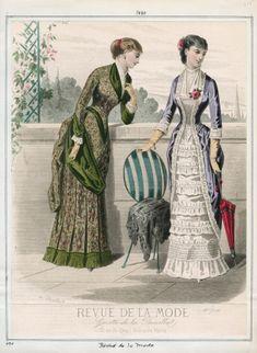 Revue de la Mode. 1880
