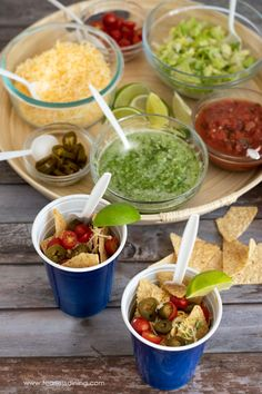 This simple Walking Tacos recipe is perfect for a party. Make this delicious gluten free tacos and add in my homemade chimichurri sauce and taco fixings. It is a lot of fun to make your own tacos. fearlessdining Gluten Free Party Food, Gluten Free Tacos, Gluten Free Appetizers, Gluten Free Dinner, Gluten Free Recipes, Gluten Free Gravy, Walking Tacos, Taco Mix, Chimichurri