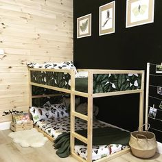 40 cool ikea kura bunk bed hacks in 2019 room sharing ikea kura bed kura bed ikea bed - Stickers bambini ikea ...