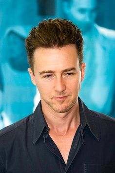 Edward Norton - I've been a huge fan since I watched him in Primal Fear. He then went on to make Fight Club, American History X and other noteworthy films. Such a versatile actor! One of my favorites definitely. I miss seeing him on the big screen.