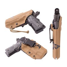 First Spear SSV In-The-Belt Holster, Appendix/Kidney in Coyote for a Glock 23 with no light - $89.99